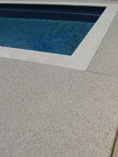 If you're after Exposed Aggregate Perth then contact Paini Concrete. Superior quality, service and prices for Exposed Aggregate… Pool Decking Concrete, Exposed Aggregate Concrete, Outdoor Paving, Pool Pavers, Polished Concrete, Concrete Floors, Backyard Pool Designs, Swimming Pool Designs, Pool Landscaping