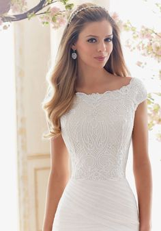 Modest Wedding Dresses, Designer Wedding Dresses, Bridal Dresses, Bridesmaid Dresses, Wedding Gowns, Mini Dresses, Mori Lee Bridal, Bridal Tops, Mermaid Dresses
