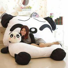 Panda Almofada Giagnte Saco De Dormir