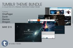 Tumblr Theme Bundle. Tumblr Themes. $29.00