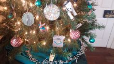 Garden themed tree ornaments -- for when you can't wait for spring but still love the winter holidays. Merry Gardening!