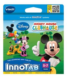 VTech InnoTab Software: Mickey Mouse Clubhouse: Amazon.co.uk: Toys & Games