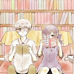 Kaneki Ken,Kirishima Touka