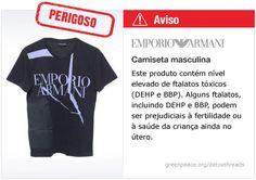 Armani camiseta   #Detox #Moda