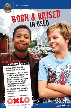 """Città di Oslo (NOR) Campagna """"OXLO - Oslo Extra large"""". http://citiesofmigration.ca/good_idea/oslo-extra-large/"""