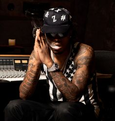 Future the Rapper | Photography Portrait of Atlanta rapper Future for Inked Magazine