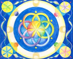 The Flower of Life by Gloria Di Simone