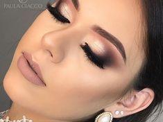 Amazing wedding makeup tips! Glam Makeup, Bride Makeup, Makeup Inspo, Eyeshadow Makeup, Makeup Inspiration, Eyebrow Makeup, Makeup Geek, Wedding Makeup Tips, Natural Wedding Makeup