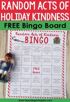 The holidays are the perfect time of the year to teach students the importance of being kind. Read this post for an easy random acts of kindness for students idea you can implement in your classroom.