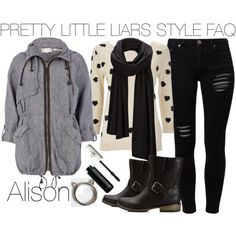 """""""Pretty Little Liars Alison Dilaurentis #25"""" by engelsvictoria on Polyvore"""