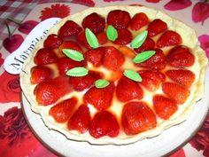 Tarte aux fraises facile : Recette de Tarte aux fraises facile - Marmiton
