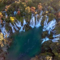 It's hard to resist the urge of jumping in, when you see Kravice Waterfall for the first time. But why oppose it? First Time, Waterfall, National Parks, Around The Worlds, River, Instagram Posts, Outdoor, Outdoors, Waterfalls