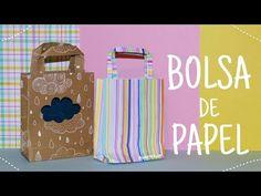 a01007f06 CÓMO HACER BOLSAS DE PAPEL PARA REGALO ❤ BOLSITAS DE PAPEL FÁCILES