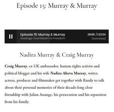Episode Murray & Murray — Assange Countdown to Freedom