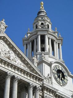 StPaulsClockTower - History of London - Wikipedia, the free encyclopedia