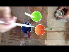 Paint+Water+Coconut Oil. Fluid Acrylic Pouring Art. Pintura+Agua+ Aceite de Coco. Arte Fluido. (047) - YouTube