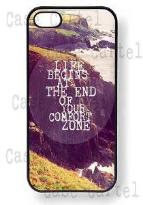 """""""Life begins at the end of your comfort zone""""  #life #quotes #iphone #iphonecase #iphonecases #hipster #gift #christmas #thanksgiving #cool #cover #ipod #ipodtouch #smartphone #coolcase #bestcase #holidaygifts #holiday #inspiration #motivation #amazon #case #cases"""