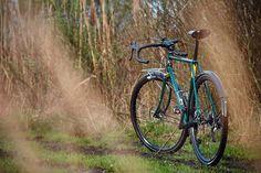 https://flic.kr/p/25oWdno | A01_5359 #steel #gravel #bilaminating #columbus #custom #madeinpoland #bicycle #frontrack #rack #stainless #nierdzewny #shimano #nitto #regal #retroshift #gevanelle #dtswiss #bike #grass #bikeporn #4130
