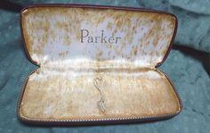 Antique  Parker Pen & Pencil CASE  #Parker