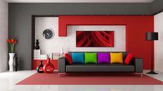 Livebetterhome.com -Home decor ideas red and brown Website : http://livebette om