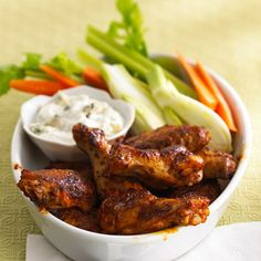 Buffalo Wings Recipe   Food Recipes - Yahoo! Shine