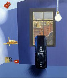 Ian Curtis - Dexter Dalwood Dexter Dalwood, London Spy, Flat Color, Colour, Ian Curtis, Moholy Nagy, Cool Artwork, Screen Printing, Print Design