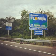 Further south.... Alexander says #florida is where the baby crocodiles live....