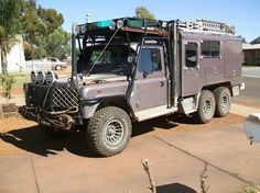 Land Rover. At some point it's time to just go to an RV. Will