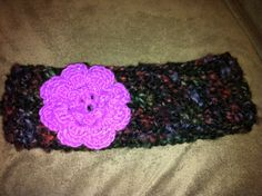 I made this crochet flower headband for one of my moms students Crochet Flower Headbands, Crochet Flowers, My Mom, Crochet Necklace, Students, Jewelry, Fashion, Crocheted Flowers, Crochet Collar
