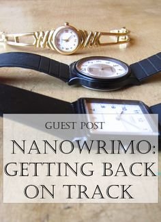Guest Post: Getting Back on Track with NaNoWriMo | If you fall off the NaNoWriMo wagon, don't worry! These tips will help you get back on track and get yourself back to writing!
