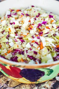 NYT Cooking: Ben Moïse, a retired game warden in South Carolina, has been serving a version of this coleslaw at his Frogmore stew parties for years. The hot, boiled dressing softens the cabbage and pickles it slightly. The result is a salad that stays delicious even when it sits outside on a picnic table for a few hours. The amount of vegetables can vary, and a finely chopped%2...