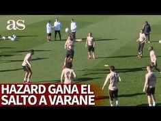 Hazard ha vuelto en forma: la disputa por arriba que le ganó a Varane  ... Real Madrid Club, Soccer, Sports, Movie Posters, Movies, Daily Journal, Shapes, Hs Sports, Football