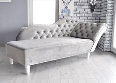 Elegancki szezlong w najróżniejszych tkaninach do wyboru. Dostawa cała Polska Love Seat, Lounge, Couch, Furniture, Design, Home Decor, Airport Lounge, Drawing Rooms, Settee