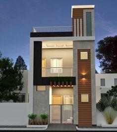 House Outer Design, Modern Small House Design, House Outside Design, Simple House Design, House Front Design, Indian House Exterior Design, Modern Exterior House Designs, Indian Home Design, 3 Storey House Design
