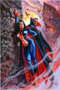 Lilith & Dracula by Dan Brereton