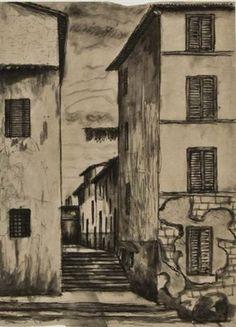 Vicolo by Tono Zancanaro