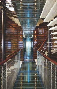 Luxury Yacht interior design,