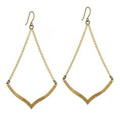 French Fashion Earrings | Archer | Gold – Grayling