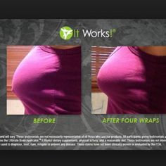 Look at these results! It looks like she's had a lift, when all she's done is used the #ItWorks body applicator! Email me to get more info SarahBethItWorks@yahoo.com
