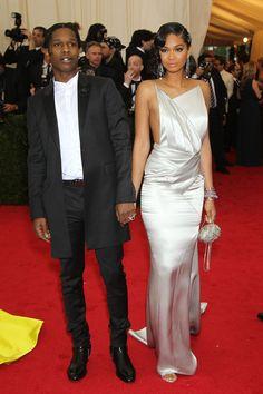 Chanel Imagen y ASAP Rocky #metball2014