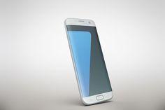 Samsung Galaxy s7Edge Gravity MockUp  @creativework247