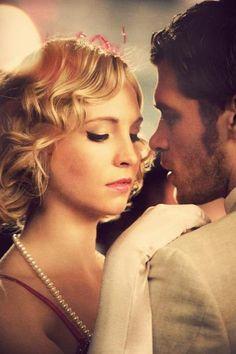 Vampire Diaries, Klaus and Caroline #TVD