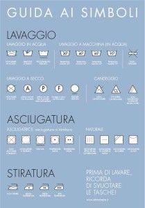 Attimamente - I simboli per il lavaggio (www.attimamente.it)