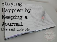 Journal Writing can help you keep a positive outlook on life. Here are some tips on writing in a journal and ideas for journal entries.