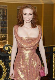 Eleanor Tomlinson Lancome Loves Alma Pre BAFTA Party 2015