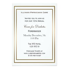 Elegant Blue Corporate Party Invitation  Party Invitations