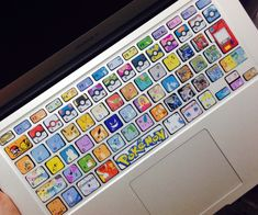 Customise your keyboard with these cute Pokemon Keyboard Stickers! #pokemon #kawaii #anime
