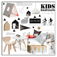 """""""Untitled #2107"""" by liliblue ❤ liked on Polyvore featuring interior, interiors, interior design, home, home decor, interior decorating, ferm LIVING, Bomedo, UGG Australia and Trademark Fine Art"""