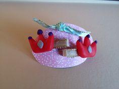 Deux barrettes cheveux couronne princesse : Accessoires coiffure par bellpepper