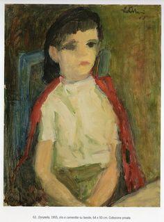 Ugo Castellani - Ritratto di Donatella
